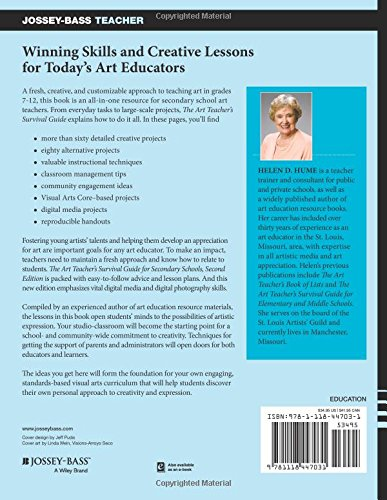 Amazon the art teachers survival guide for secondary schools amazon the art teachers survival guide for secondary schools grades 7 12 9781118447031 helen d hume books fandeluxe Image collections