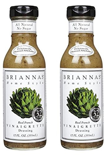 - Briannas Real French Vinaigrette 12 oz (Pack of 2)