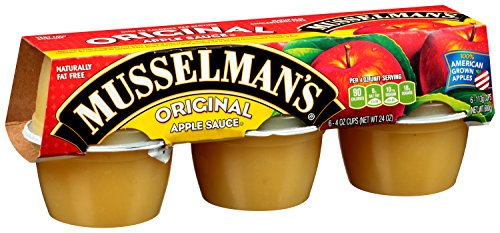(Musselman's Sweetened Applesauce, 4-Ounce Cups (Pack of 72))