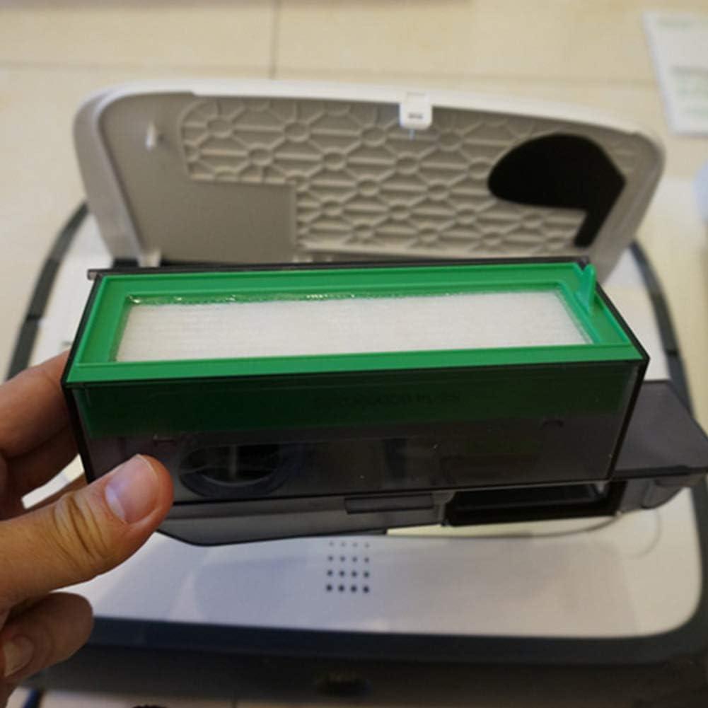 Datyeco 15 filtros de cepillo lateral accesorios para aspiradora Vorwerk Kobold VR200 VR300 accesorios de repuesto 6 filtros HEPA de alergia y 8 cepillos laterales y 1 cepillo pequeño: Amazon.es: Hogar