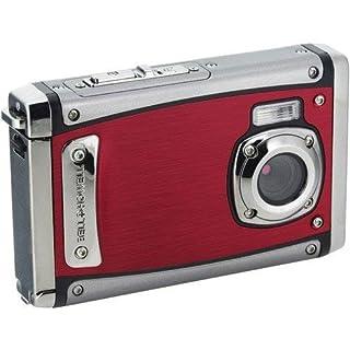 """Bell+Howell WP20-R Splash3 20 Mega Pixels Waterproof Underwater Digital Camera with Full 1080p HD Video, 2.4"""" LCD & 8x Digital Zoom, Red"""