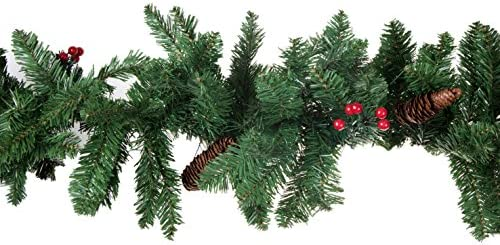 Amazon Com Clever Creations Christmas Tree Branch Garland Festive