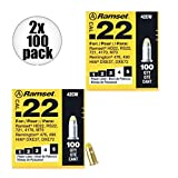 Ramset 42CW Boxes of 100 #4 ''Yellow'' 22 cal Single Shot Loads 2-Pack