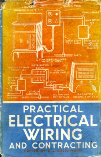 Practical Electrical Wiring And Contracting Amazon Com Books