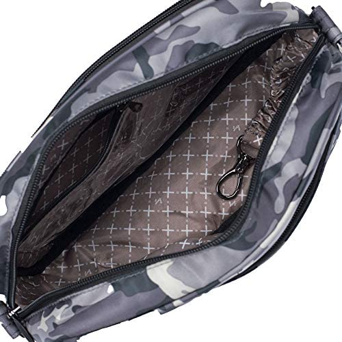 Lug Carousel XL Cross Body Bag, Camo Midnight