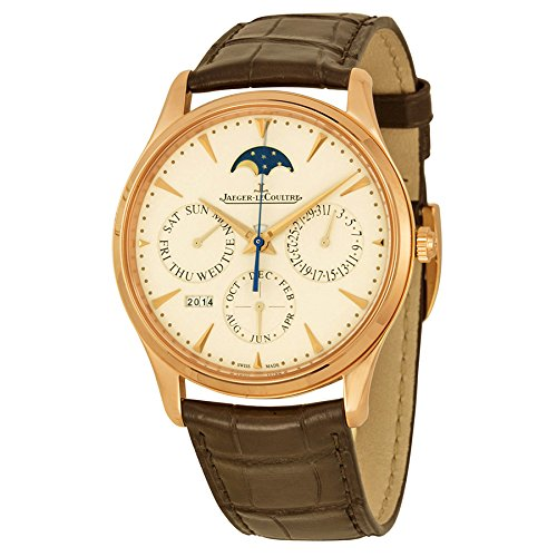 Jaeger LeCoultre Master Ultra Thin Perpetual Calendar Automatic Mens Watch Q1302520 (Jaeger Lecoultre Master Ultra Thin Perpetual Calendar Price)