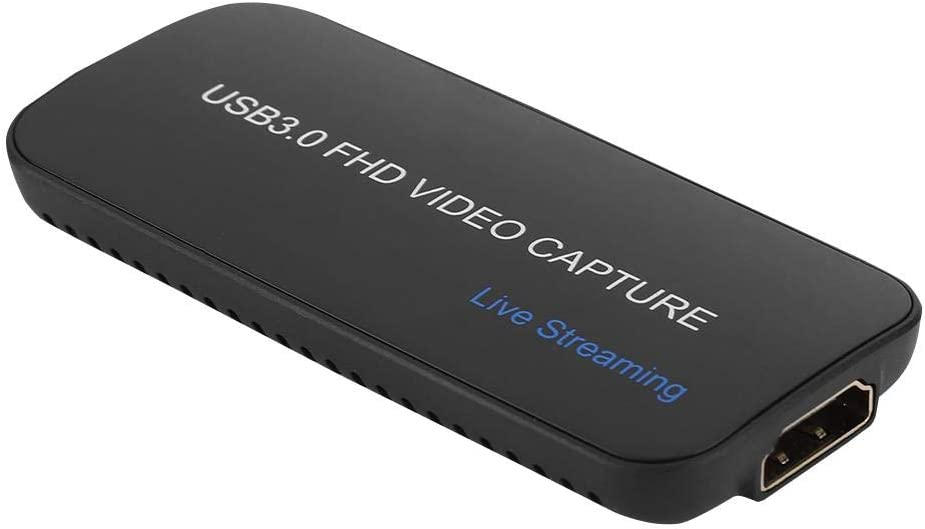 Tonysa USB 3.0 HDMI HD Video Capture Card 1080p 60hz 4K 30hz Video Live Equipment Device for Most Multimedia Video Software//Streaming Live Software