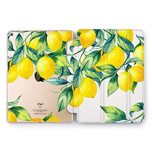 (Wonder Wild Lemon Tree Tropical Hard Case iPad Mini 1 2 3 4 Air 2 Pro 10.5 12.9 Citrus Tablet 2018 2017 9.7 inch 5th 6th Generation Plant Design Cover)