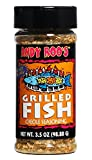 Andy Roo s Salt-Free Grilled Fish Creole Seasoning, 3.5 Ounce Shaker