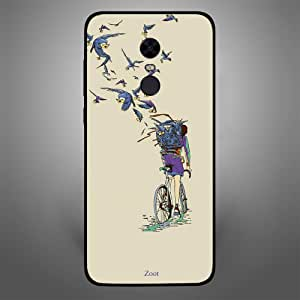 Zoot Birds Carrying Letters Designer Phone Cover for Xiaomi Redmi Note 5