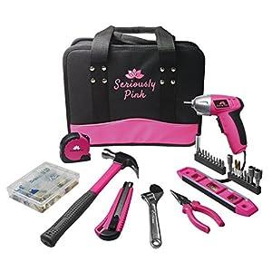 11. Seriously Pink Ladies' Tool Kit