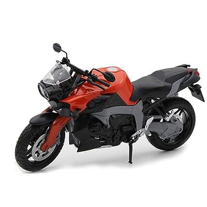 1:12 Modelismo Motocicletas Simulado Para La Motocicleta Bmw K1300r, Aleación tanque combustible Locomotora