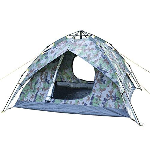 ブロックちらつき果てしないワンタッチテント テント 3~4人用 設営簡単 防災用 2WAY キャンプ用品 撥水加工 紫外線防止 登山 折りたたみ 防水 通気性 アウトドア 秒速設営