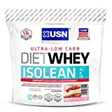 USN Diet Whey Isolean, Strawberry Shortcake - 1 kg by USN