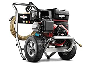Briggs & Stratton 20330 3700-PSI Gas Pressure Washer with Vanguard OHV 391cc Engine and Triplex Pump, 4.2 GPM