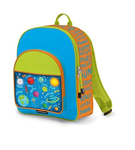Crocodile Creek Kids Eco Solar System School Backpack, Blue, 14