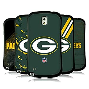 Official NFL Green Bay Packers Logo Hybrid Case for Samsung Galaxy Note 3