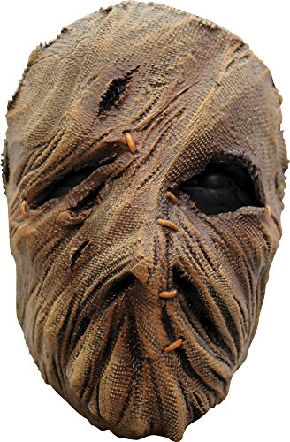 Scarecrow Latex Face Mask (Mask Scarecrow Latex)