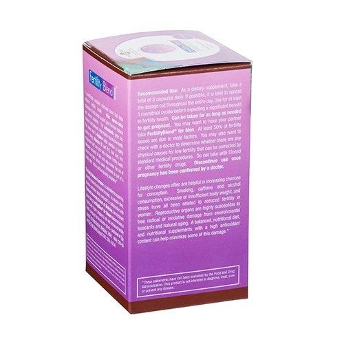 Fertility Blend Mujer 90 Cápsulas - Suplemento Natural Para Ayudar A Mejorar La Fertilidad Femenina - Aumenta Las Probabilidades De Embarazo De Forma ...