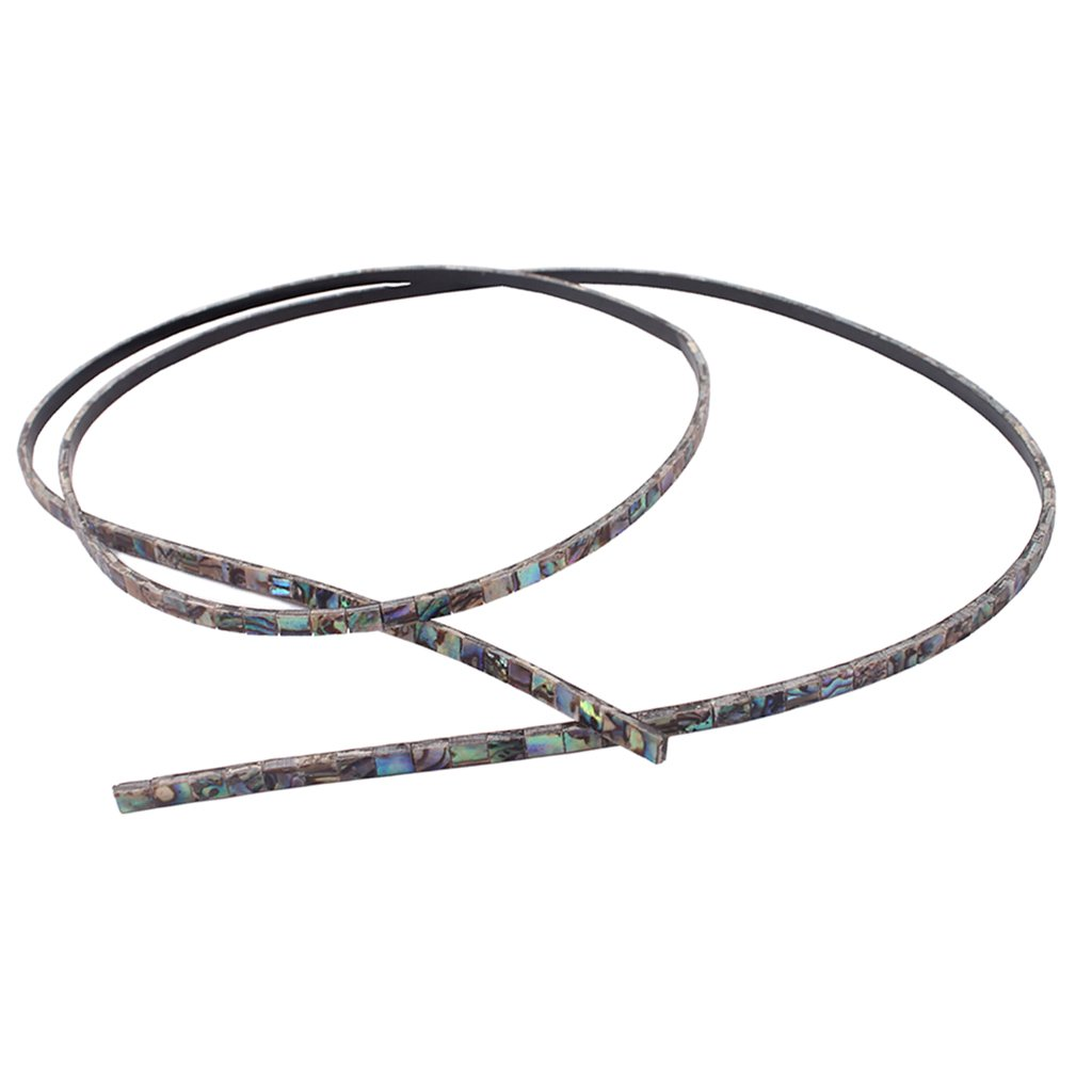 Dovewill 80031.5mm Abalone Purfling Strip Colourful Guitar Abalone Inlay Material Luthier Supply