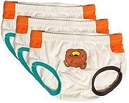 Tiny Undies Small Baby Underwear, Unisex, 3-Pack