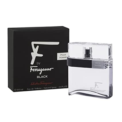 Salvatore Ferragamo F by Ferragamo Black Eau De Toilette 100 ml (man)