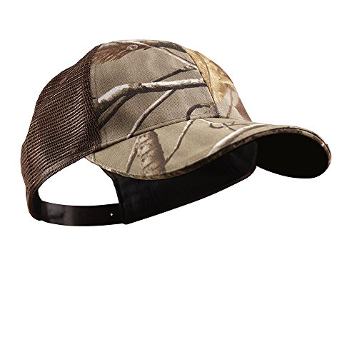 Panther Vision POWERCAP CAMO LED Hat 25/10 Ultra-Bright Hands Free Lighted Battery Powered Headlamp – Real Tree AP Grey Structured Mesh (CUB4-281176)