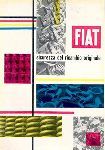 1953 Fiat Parts & Seat DR50 Tires Ad Italy
