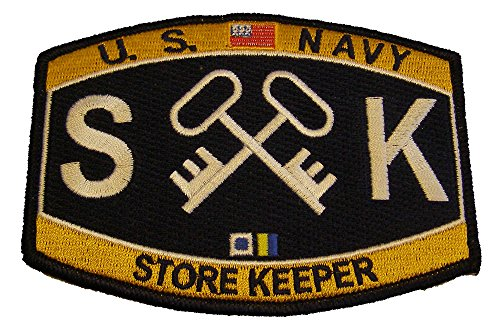 Amazon U S Navy Deck Rating Storekeeper Sk Mos Patch