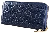 Luxury Wallet Navy Blue