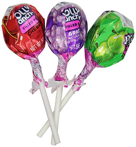 JOLLY RANCHER Fruit Chew Center Lollipops (Assorted Flavors, 100-Count, 3.84-Pound)