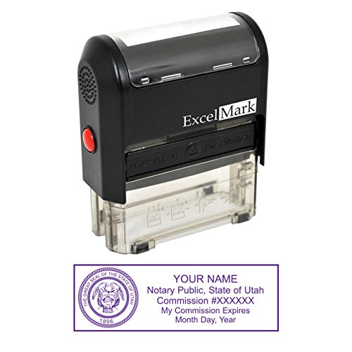 ExcelMark Self Inking Notary Stamp - -