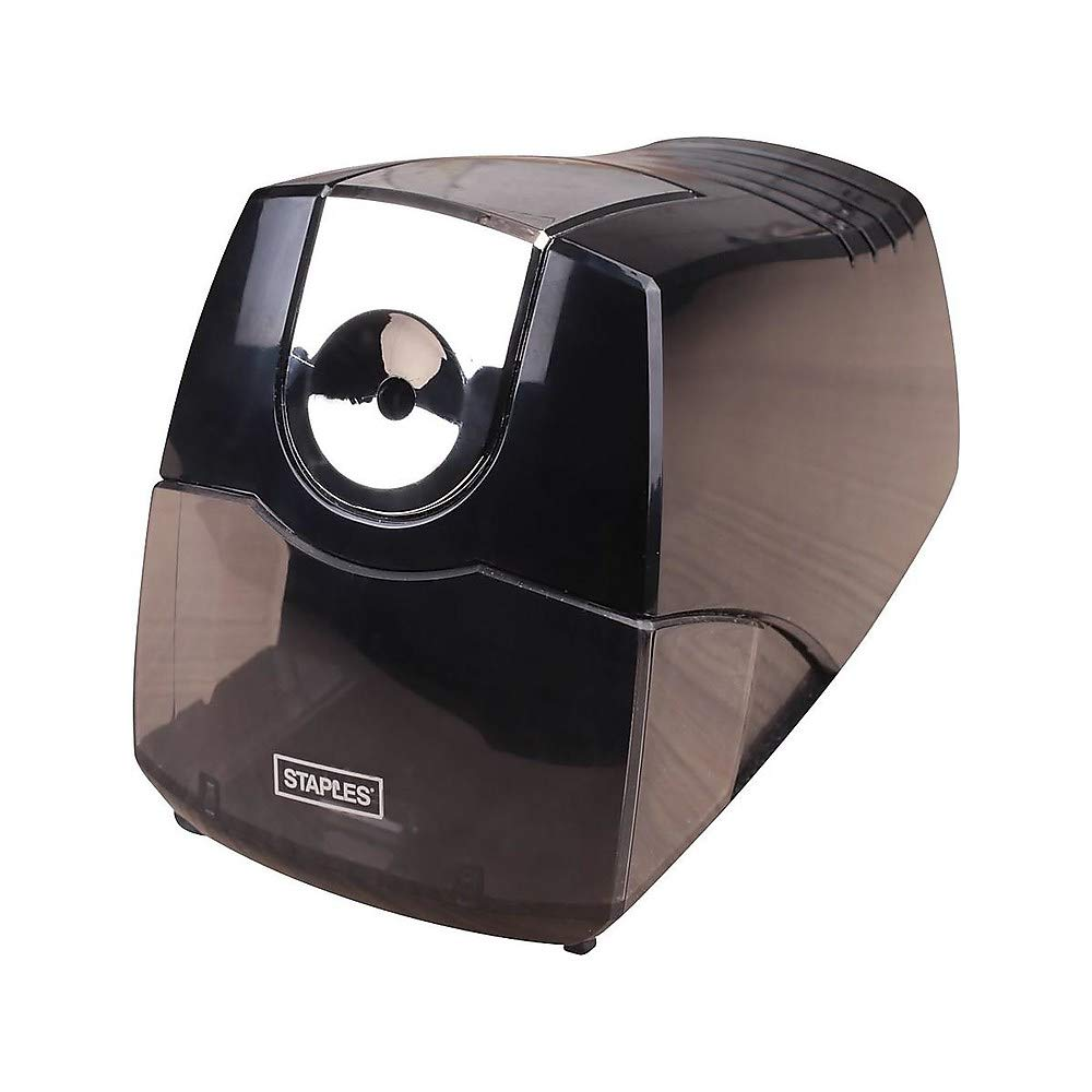 Staples 356332 Power Extreme Electric Pencil Sharpener Heavy-Duty Black (21834) by STAPLES