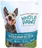 Whole Paws, Healthy Weight Dog Food Formula, Chicken & Brown Rice, 6 lb