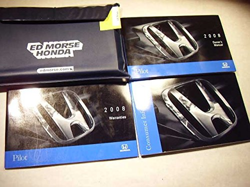 2008 Honda Pilot Owners Manual