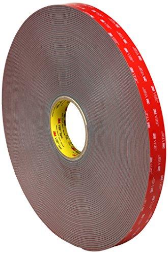 Cinta adhesiva 3M VHB 4991, 1en ancho x 5en longitud (Pack de 15)