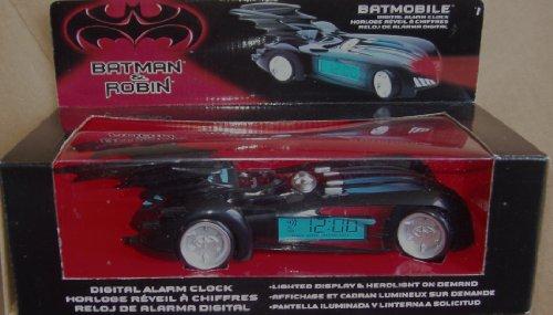 [Batman & Robin Batmobile Digital Alarm Clock] (Robin Clock)