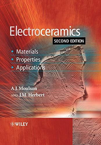 Electroceramics 2e by A. J. Moulson