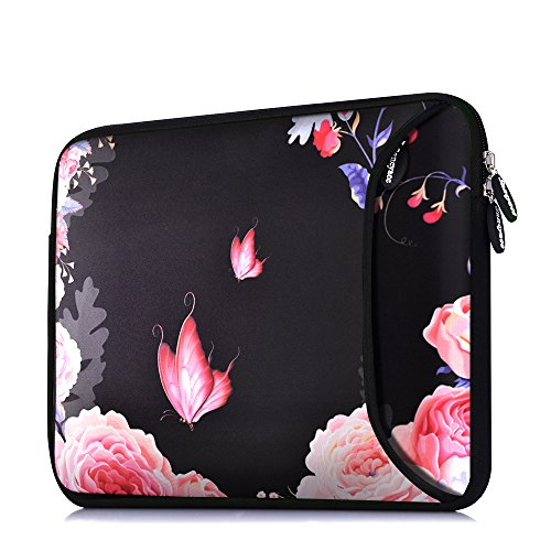 Protective, pretty laptop sleeve (padded and water resistant)