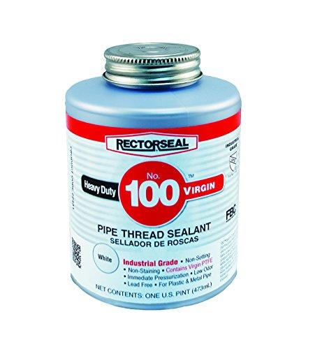 Rectorseal 22431 No.100 Pint Brush Top VirginPipe Thread Sealant by Rectorseal