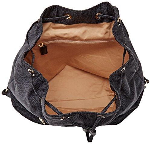 Borbonese 934792296 - Bolso de Mochila Mujer negro