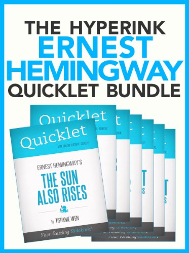 The Ernest Hemingway Quicklet Bundle (For Whom the Bell Tolls, The Sun Also Rises, A Farewell to Arms, and More!)