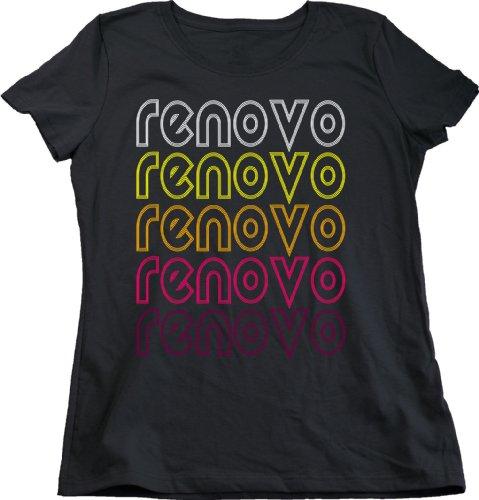 Renovo, PA Retro Vintage Style Pennsylvania Ladies' T-shirt-Small