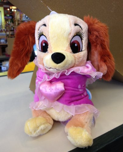Disney Baby Lady from Lady and the Tramp in a Blanket Plush Doll, Baby & Kids Zone