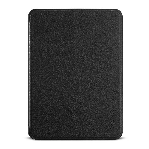 Amazon Kindle Voyage E-reader Case - WAWO Premium PU Leather Slim Shell Case