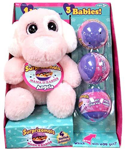 3b7db973dac Amazon.com  Surprizamals Mamma   Babies Animal Plush with 3 Blind ...