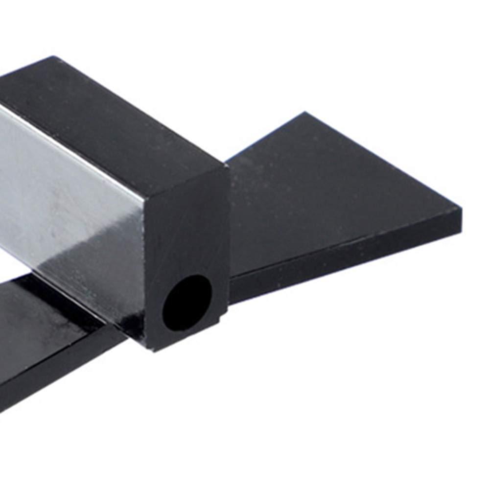 Indicador Peso ligero Marcador de cola de milano Aleaci/ón de aluminio Carpinter/ía 1 5 Escalas graduadas de madera blanda 1 8 Herramienta de medici/ón de madera dura