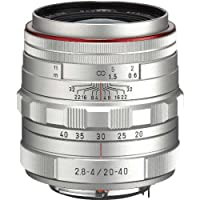 PENTAX Limited lens standard zoom lens HD PENTAX-DA20-40mm F2.8-4ED Limited DC WR Silver(Japan Import-No Warranty)
