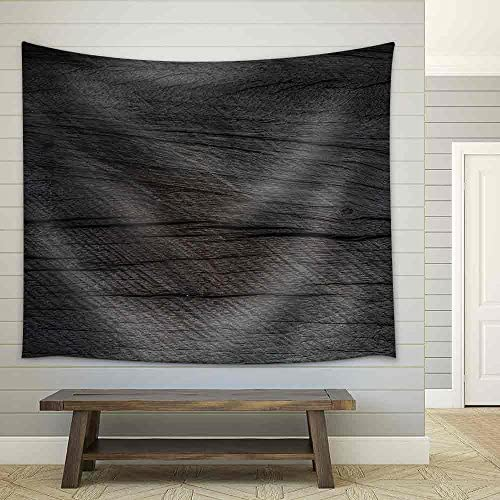 Wooden Texture Fabric Wall