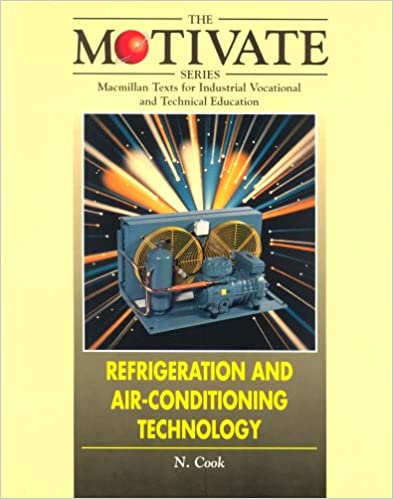 Book Refrigeration and Air-conditioning Technology (Motivate)